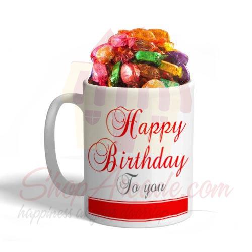 Birthday Mug With Chocos