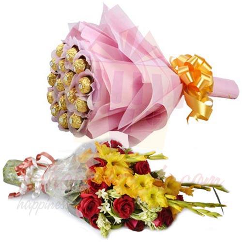 Flower Chocs Bouquet