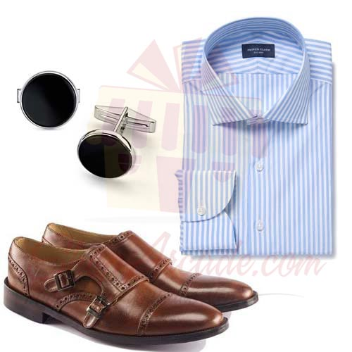 Shirt Shoes Cufflinks