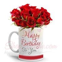 Rose Bday Mug