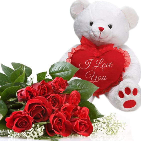 roses-with-teddy