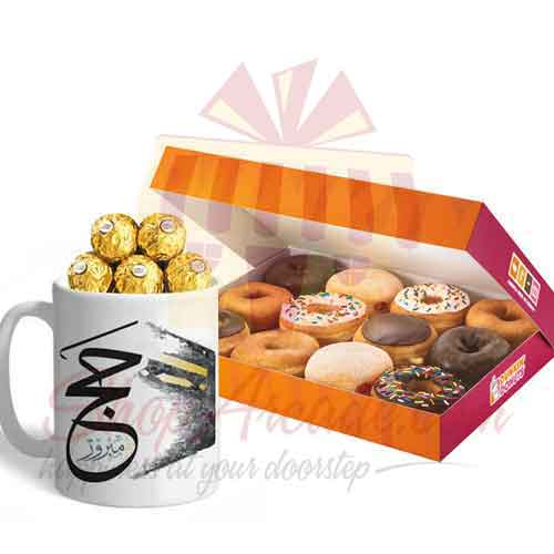 Hajj Ferrero Mug With Donuts