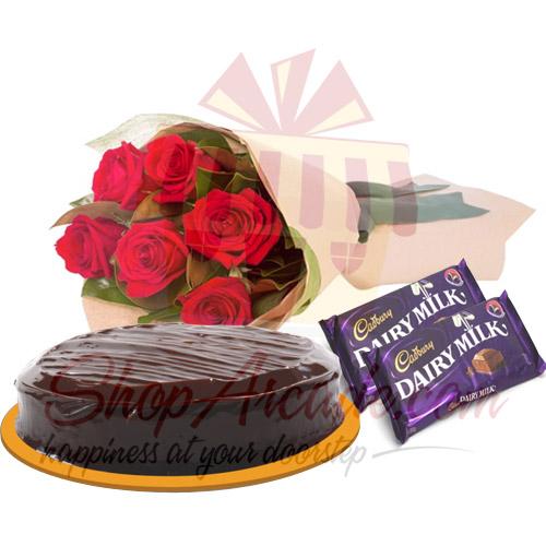 Roses Cake Chocs