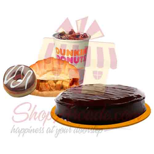 Dunkin Deal With Cake