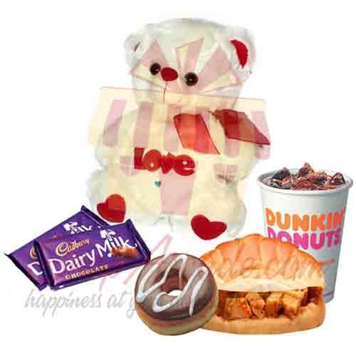 Love Bear Chocs Dunkin Deal