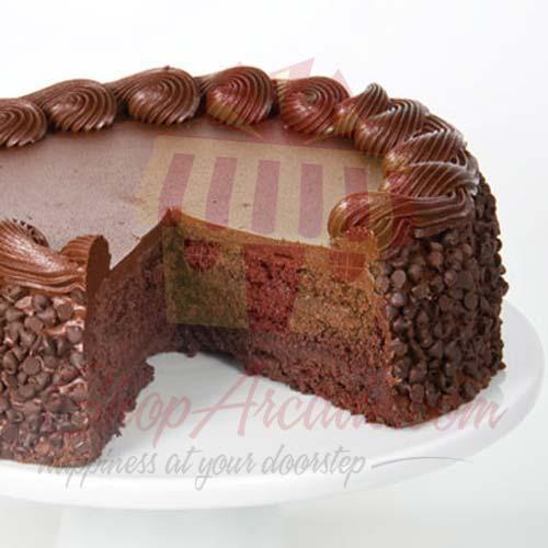 Creamy Fudge Cake 2lbs-Le Cafe