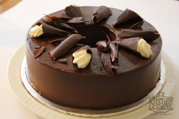Dark Chocolate Cake 2lbs from Kitchen_Cuisine