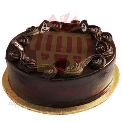Dark Chocolate Cake - My New Italian Bakery