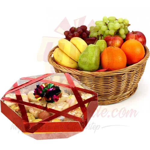Fruit and Mithai Tokra