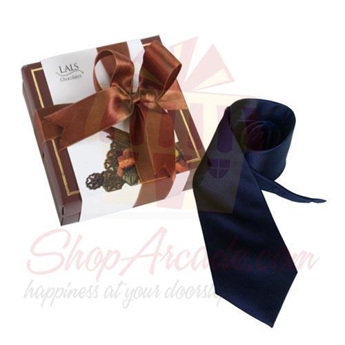 Tie With Chocolates