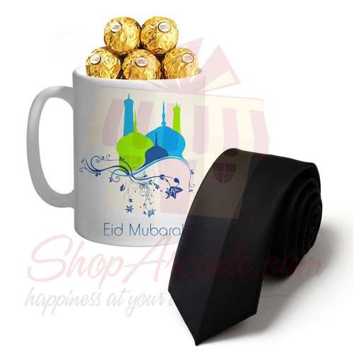Tie With Eid Choco Mug