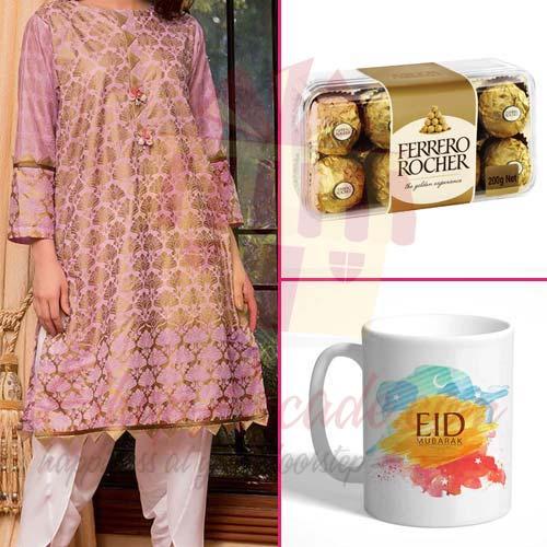 Suit Chocs And Eid Mug