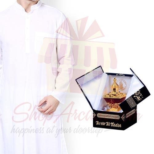 Kurta With Ittar Kaaba