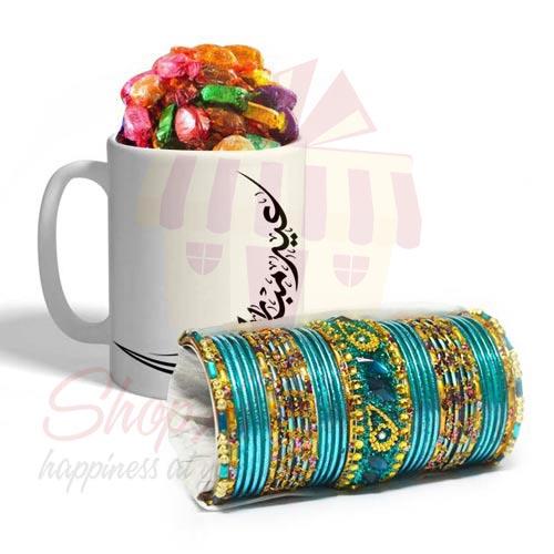 Choori With Chocolate Mug