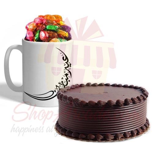 Cake With Eid Choco Mug