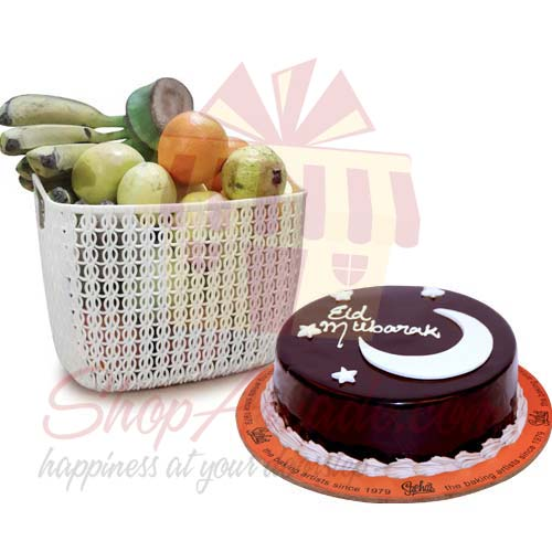 Eid Cake With Fruits