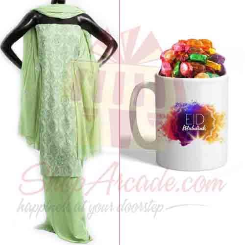 Suit With Eid Chocolate Mug
