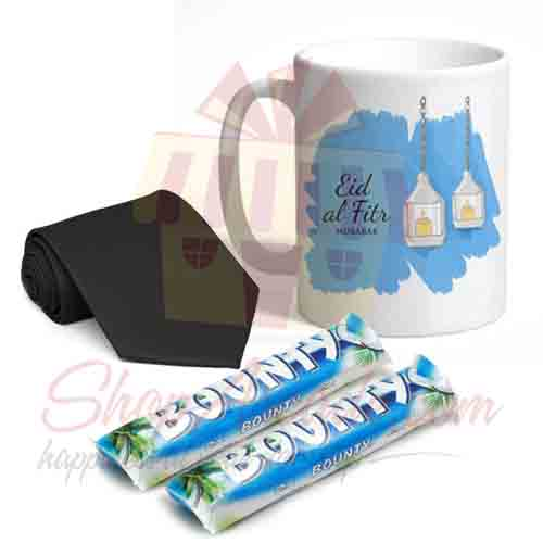 Eid Mug Tie Chocolates