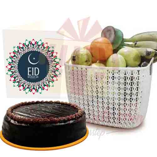 Fruits And Cake (Eid Gifts)