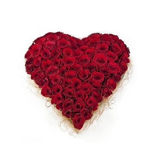 Rose Heart Basket