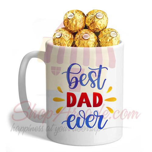 Ferrero In A Best Dad Ever Mug