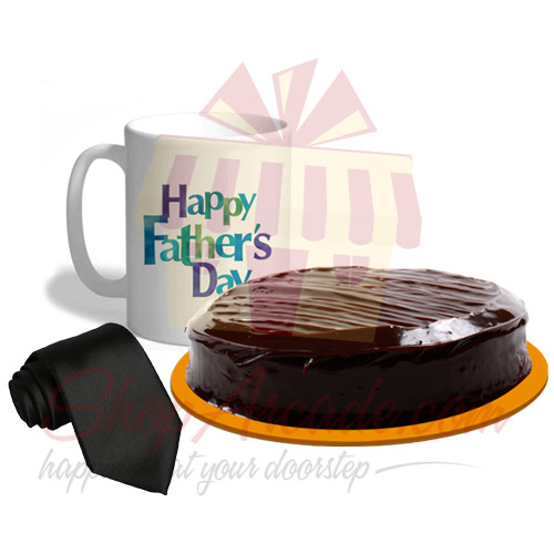 Cake Mug Tie For Dad