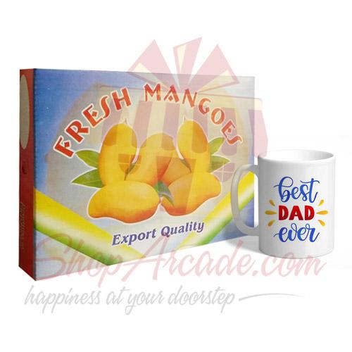 Mango Box With Dad Mug