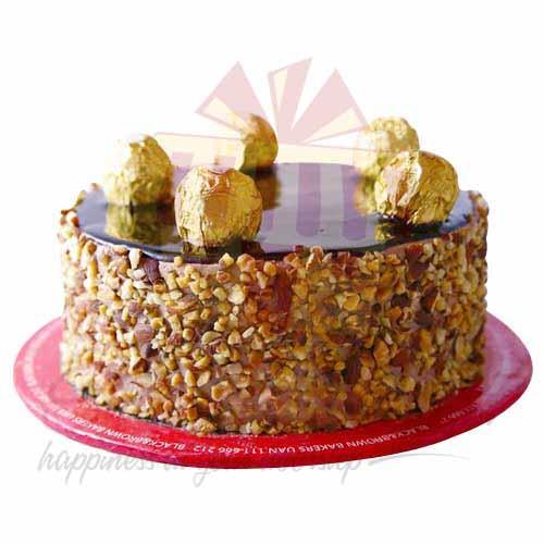 Ferro Rocher Cake - My New Italian Bakery
