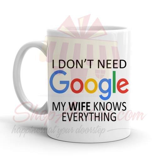 Google Wife Mug