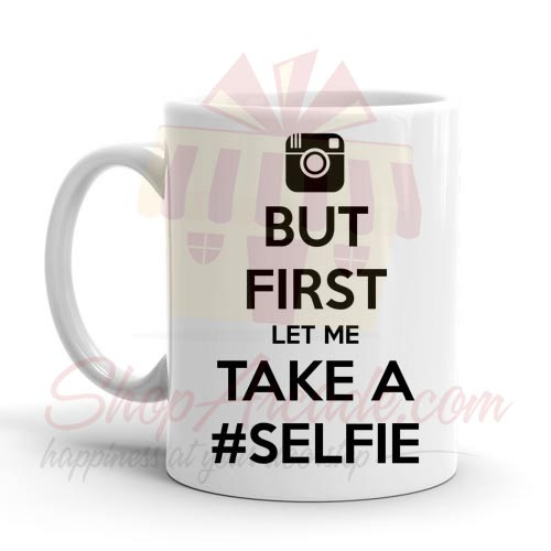 First Selfie Mug
