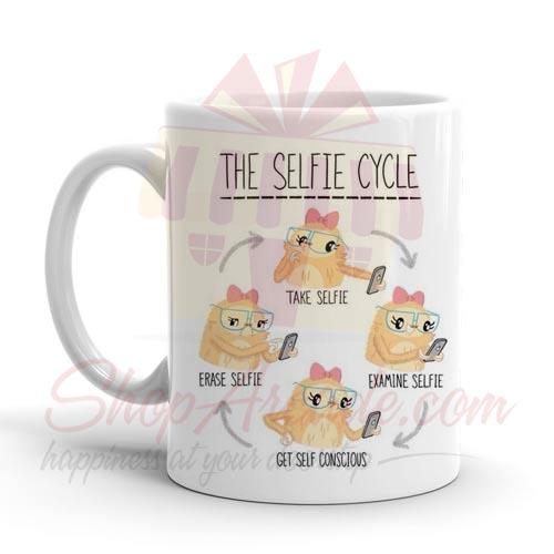 Selfie Cycle Mug