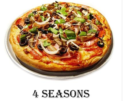 Four Seasons Medium Pizza Deal