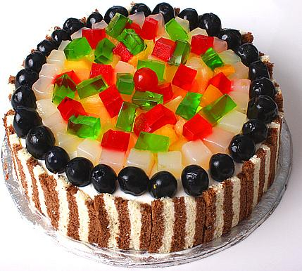 Fruit cocktail Cake (2Lbs) - Treat Bakers