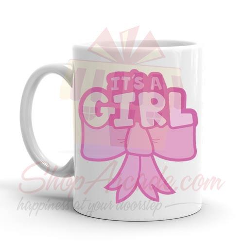 Its A Girl Mug 01