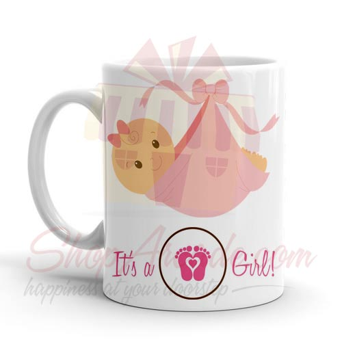 Its A Girl Mug 02