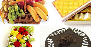 Flowers Cake Sweets Fruit