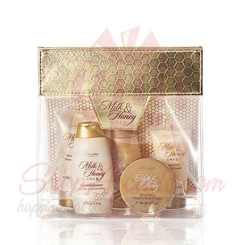 Milk and Honey Gold Gift Kit