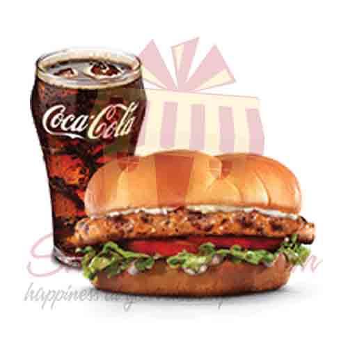 Grilled Chicken Sandwich-Hardees
