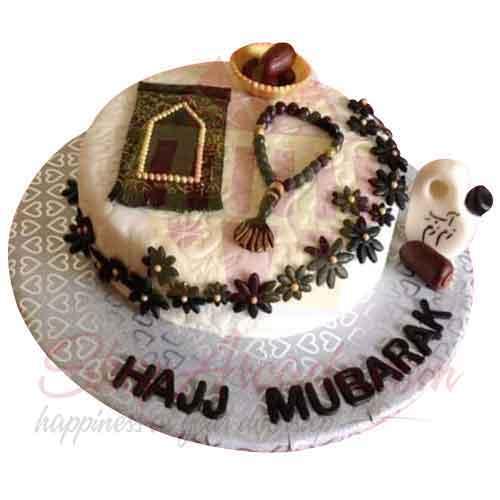 Hajj Mubarak Cake 3lbs