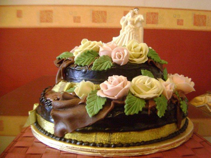 Happy Wedding Cake