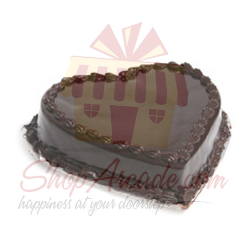 Heart Shape Cake 2lbs - Ramada