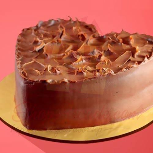 Heart Shape Cake 2.5lbs Delizia