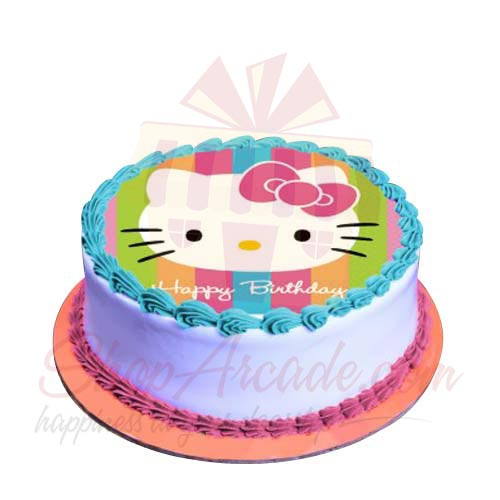 Kitty Picture Cake 2lbs-Sachas