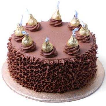 Hersheys Kisses Cake From Donutz Gonutz Bakery