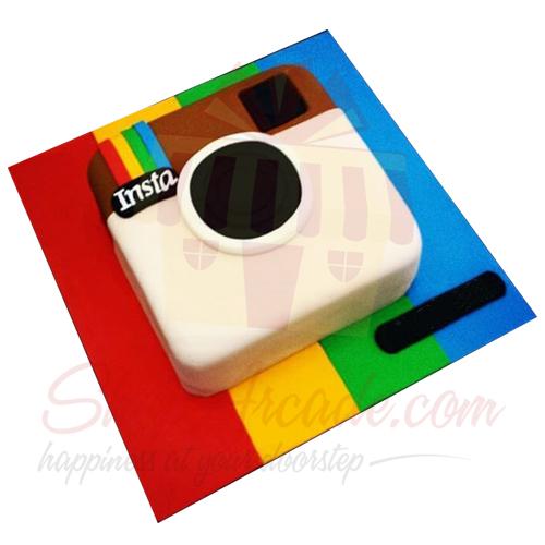 Instagram Theme Cake 5lbs