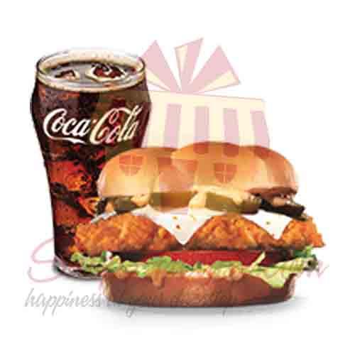 Jalapeno Chicken Sandwich-Hardees