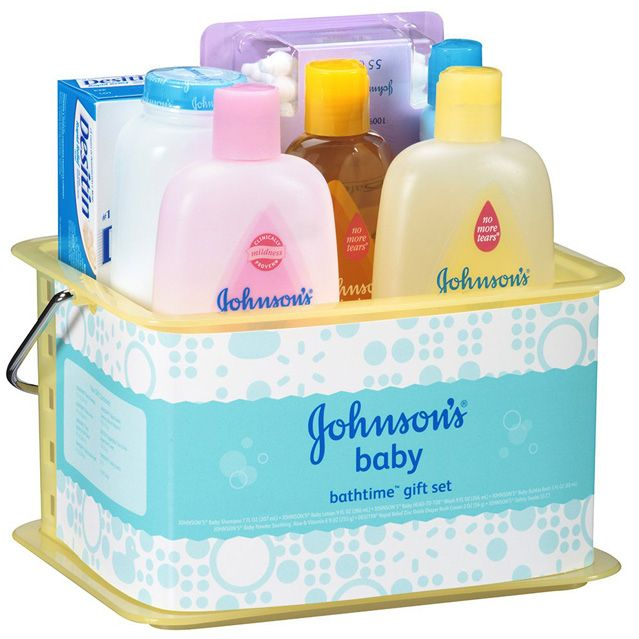 Johnsons and Johnsons Baby Gift Set
