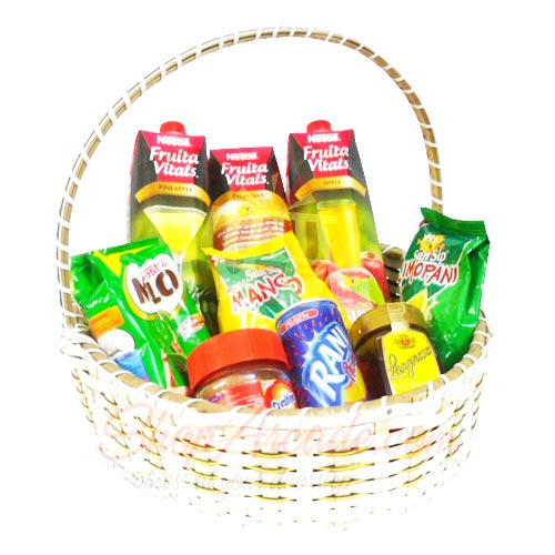 Juices In A Basket