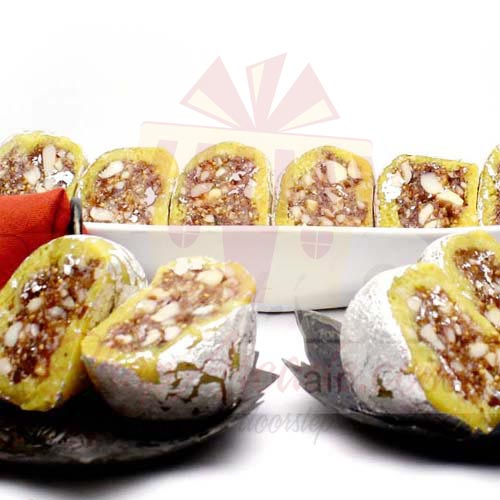 1Kg Kaju With Anjeer And Nut Filling