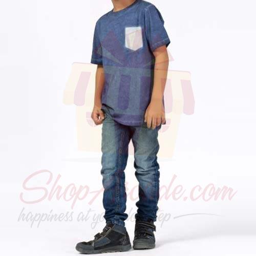 Blue Tshirt By (Khaadi)